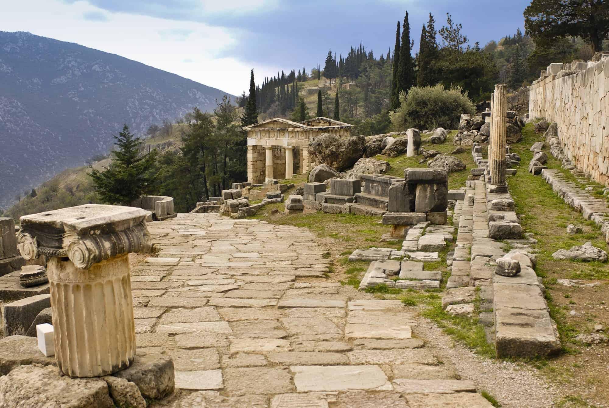 Delfos - Templo de Apolo