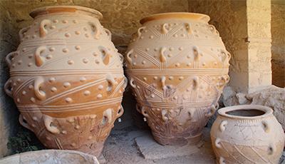 Anforas Palacio de Knossos