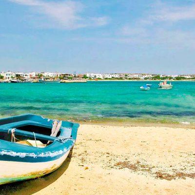 Naxos Playa Barco