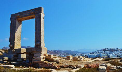 Naxos Templo de Apolo
